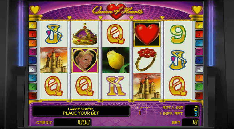 queen-of-hearts-novomatic-slot-oyunu