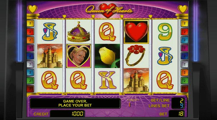 queen-of-hearts-novomatic-slot-oyunu