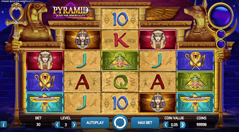 pyramid-quest-for-immortality-netent-slot-oyunu