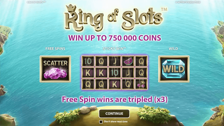 king-of-slots-netent-slot-oyunu
