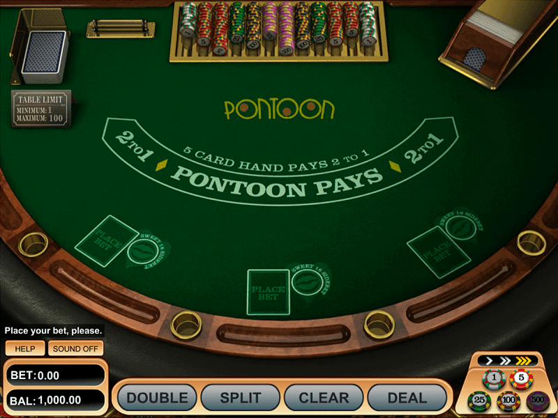 Pontoon Blackjack Oyna